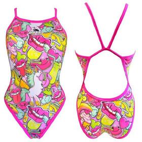 Turbo Scandal Swimsuit Damen pink